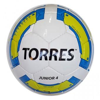 Мяч футбольный № 4 TORRES Junior-4 310-330гр PU
