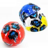 мяч футбольный размер 5 PVC 1,6 мм 4 цвета 280 г (25493-21) (Не предназначен для профессионального и любительского футбола)
