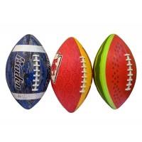 Мяч для американского футбола,проф, вес 320 гр, длина 28 см, имитация шнуровки, PU G659