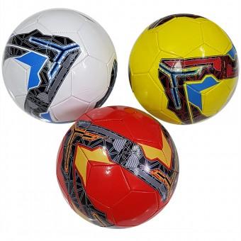 Мяч футбольный размер 5 (4 цвета) 275 г камера PU (W-11,117786) (Не предназначен для профессионального и любительского футбола)