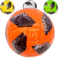 Мяч футбольный детский №2, PVC 2.6, 250 гр., машинная сшивка 28706