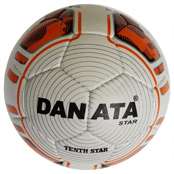 Мяч футбольный Danata Tenth Star (пресскожа) нов приход сниж цены