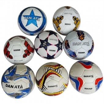 Мяч футбольный Danata Sound (пресскожа) нов приход сниж цены