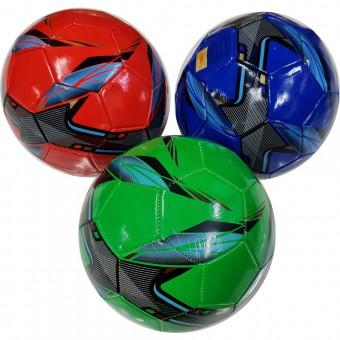 Мяч футбольный клубный цветной (ламинир ассорти) Р