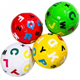 Мяч футбольный размер 5 (4 цвета) 275 г камера PU (QQ-14,117774) (Не предназначен для профессионального и любительского футбола)