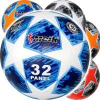 """Мяч футбольный """"Meik-МК-122 ТПУ + PVC 400гр термосшивка 18028"""