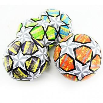 Мяч футбольный №2 PVC 2,5 мм 4 цвета 100 г