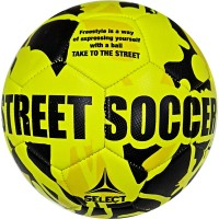 """Мяч футбольный """"SELECT Street Soccer"""" р.5, 32пан., резина, маш.сш., лат.камера, жел-черн"""