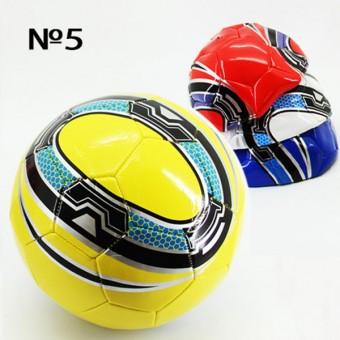 Мяч футбольный размер 5 PVC 1,6 мм 4 цвета 280 г (25493-1A) (Не предназначен для профессионального и любительского футбола)