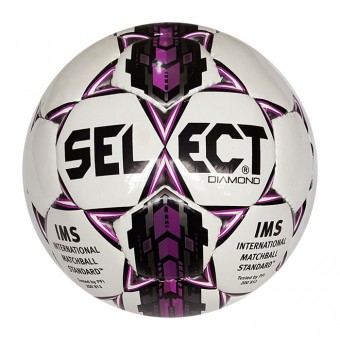 Мяч футбольный Select Diamond №5, глянц, ПВХ, ручн. сшив