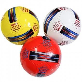 Мяч футбольный размер 5 (4 цвета) 275 г камера PU (QQ-18,117776) (Не предназначен для профессионального и любительского футбола)
