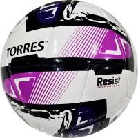 "Мяч футзал. ""TORRES Futsal Resist"" арт.FS321024, р.4, 24 п.,ПУ, 3 подкл.сл., гиб.сш сбелый-мультикол"