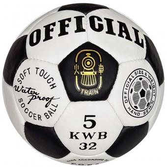 Мяч футбольный OFFICIAL пресскожа 250-20 (машин шивка)