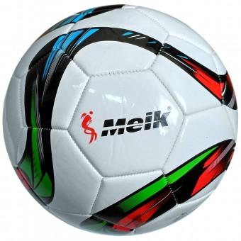 """Мяч футбольный """"Meik-069,065"""" 4-слоя TPU+PVC 3.0, 400 гр, машинная сшивка R18032,31313"""