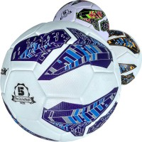 """Мяч футбольный """"Meik-091"""" 4-слоя, TPU+PVC 3.2, 410-450 гр., термосшивка 28675"""