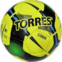 "Мяч футзал. ""TORRES Futsal Striker"" арт.FS321014, р.4, 30 панели. TPU, 3 подкл. слоя, маш.сш.,желтый"
