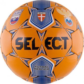 Мяч футзал № 4 SELECT Futsal Replica 2008 лого АМФР и РФС