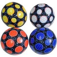 Мяч футбольный размер 5 + сетка + иголка 4 цвета 275 г камера PU W-13 (Не предназначен для профессионального и любительского футбола)