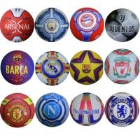 Мяч футбольный клубный TOP NEW ПУ машин шивка (10 клубов)