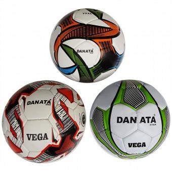 Мяч футбольный Danata VEGA (пресскожа) нов приход сниж цены