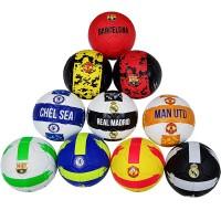 Мяч футбольный клубный материал TPU+PVC (разные клубы)