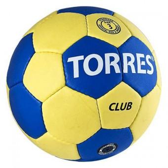 Мяч гандбольный № 3 TORRES Club (5 слоев)
