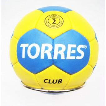 Мяч гандбольный № 2 TORRES Club (5 слоев)