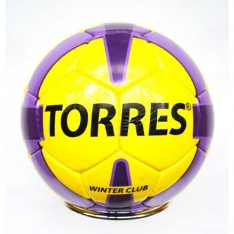 Мяч футбольный TORRES Winter Club YELLOW