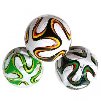 Мяч футбольный машинная шивка 280гр PVC 25497-4