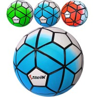 """Мяч футбольный """"Meik-100"""" 4-слоя, TPU+PVC 3.2, 410-450 гр., термосшивка"""