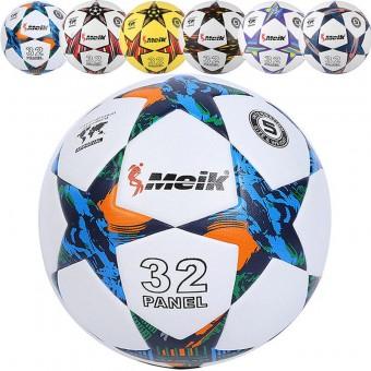 """Мяч футбольный """"Meik-098"""" 4-слоя TPU+PVC 3.2, 400 гр, термосшивка"""