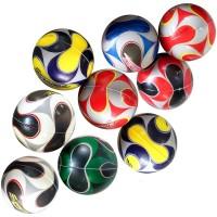 Мяч детский (порист. резина) 75 мм с рисунком (12шт/уп) 07543