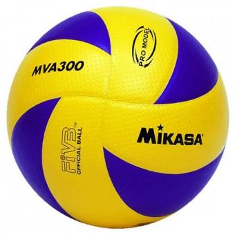 Мяч волейбольный Mikasa MVА 300 синт. кожа микрофиб.оф мяч