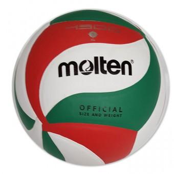 Мяч волейбол Molten, клееный, 18 панелей, полиуретан 2700,V54500