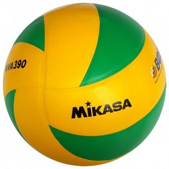 """Мяч волейбольный Mikasa MVA390CEV"""", р 5, синт.кожа"""