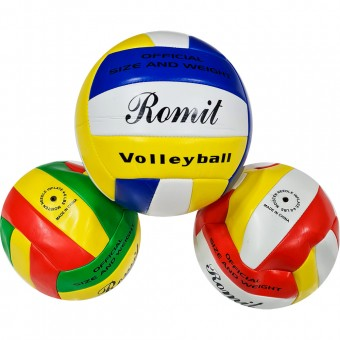 Мяч волейбольный 260 г, 2 цвета (QQ-30)