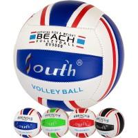 Мяч волейбольный (цв ас), PVC 2.5, 250 гр, машинная сшивка 33541