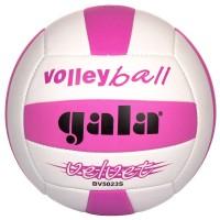 Мяч волейбольный Gala Velvet BV5023S, шитый, бело-розовый,18 панелей, камера бутиловая,