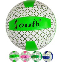 Мяч волейбольный (цв ас), PVC 2.7, 280 гр, машинная сшивка 33542
