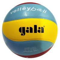 Мяч волейбольный Gala G651, клееный,10 панелей,желто-красно-голубые цвета