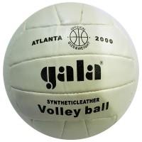 Мяч волейбольный Gala PQ209, шитый, 18 панелей, белый, №5, камера бутиловая,