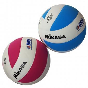 """Мяч волейбольный """"Mikasa VSV800"""", р.5, синт.пена ТПЕ, клеен,8 пан,бут.кам (роз, голуб)"""