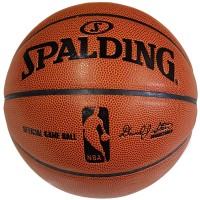 Мяч баскетбольный № 7 Spalding , вес 570-650гр, коричневый дизайн,Soft Grip, SA-12