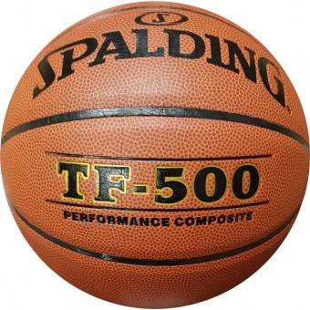 Мяч баскетбольный № 7 SPALDING TF-500 пу композит официал.