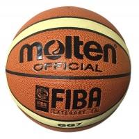 Мяч баскетбол Molten, №7, длина окр.75-76см,вес 567-623гр, синтетическая кожа GG7