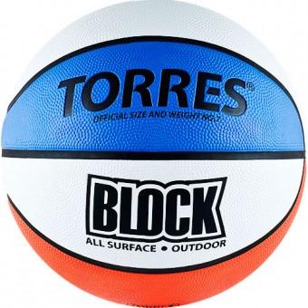"""Мяч баскетбольный № 7 TORRES """"Block"""""""