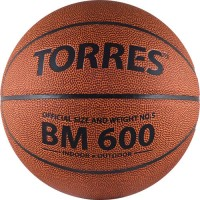 Мяч баскетбольный № 5 TORRES BM600 ПВХ