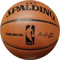 Мяч баскетбольный № 7 SPALDING имитац натур кожи SA-12 реплика