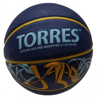 Мяч баскетбольный № 3 TORRES Jam
