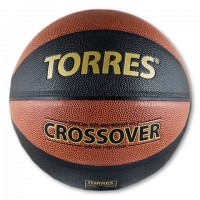 """Мяч баскетбольный № 7 TORRES """"Crossover"""" PU бутилов камера"""